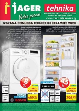 Jager katalog Tehnika in keramika 2020