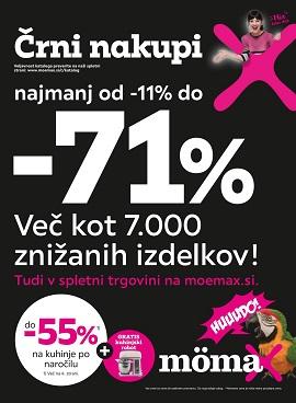 Momax katalog Črni nakupi