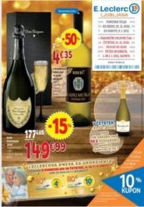 E Leclerc katalog Ljubljana do 9. 1.