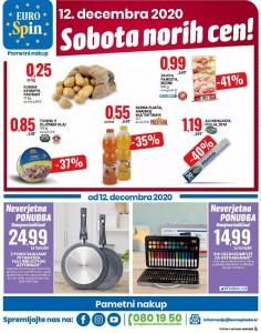 Eurospin sobota norih cen 12. 12.