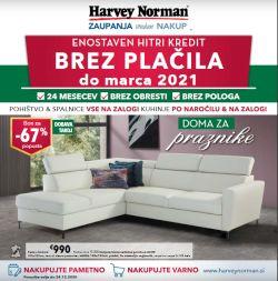 Harvey Norman katalog Za praznike doma-pohištvo