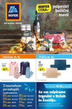 Hofer katalog od 18. 12.