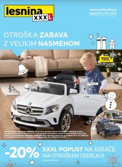 Lesnina katalog Otroška zabava do 3. 1.