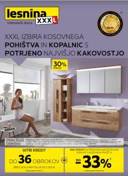 Lesnina katalog XXL izbira do 31. 12.