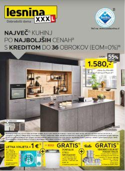 Lesnina katalog Največ kuhinj po najboljših cenah