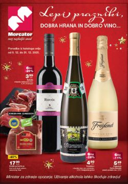 Mercator katalog Lepi prazniki do 31. 12.