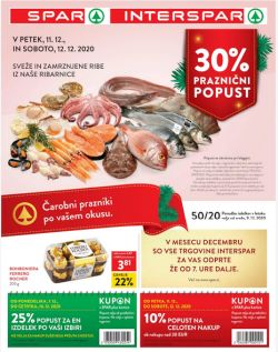 Spar in Interspar katalog do 22. 12.