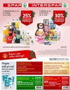 Spar in Interspar katalog do 5. 1.