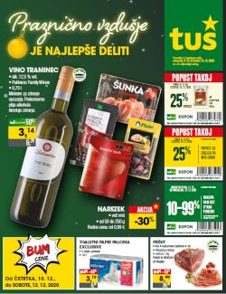 Tuš katalog trgovine in franšize do 15. 12.