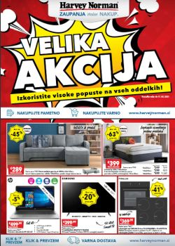 Harvey Norman katalog Velika akcija do 17. 2.
