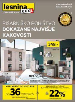 Lesnina katalog Pisarniško pohištvo do 23. 1.