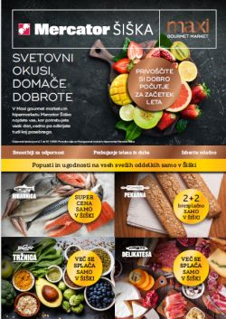 Mercator katalog Šiška do 31. 1.