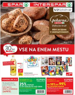 Spar in Interspar katalog do 16. 2.