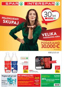 Spar in Interspar katalog do 12. 1.