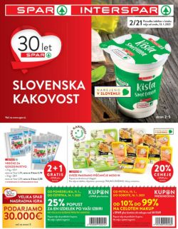 Spar in Interspar katalog do 26. 1.