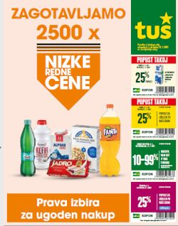 Tuš katalog trgovine in franšize do 12. 1.
