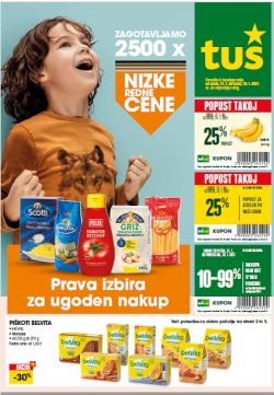 Tuš katalog trgovine in franšize do 19. 1.