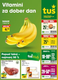 Tuš katalog trgovine in franšize do 2. 2.