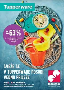 Mercator katalog Tupperware