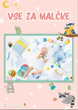 E Leclerc katalog Vse za malčke do 20. 2.