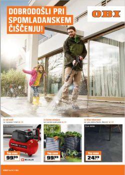 OBI katalog Spomladansko čiščenje do 14. 3.