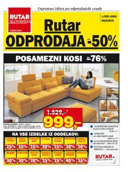 Rutar katalog Odprodaja do – 50 % do 22. 2.