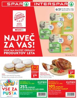 Spar in Interspar katalog do 23. 2.