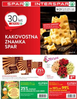 Spar in Interspar katalog do 16. 3.