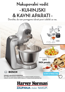 Harvey Norman katalog Kuhinjski in kavni aparati