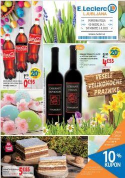E Leclerc katalog Ljubljana do 3. 4.