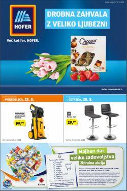 Hofer katalog od 19. 3.