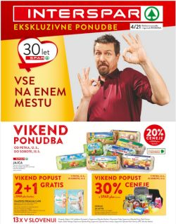 Interspar katalog do 23. 3.