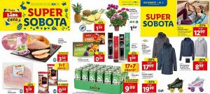 Lidl super sobota do 27. 3.