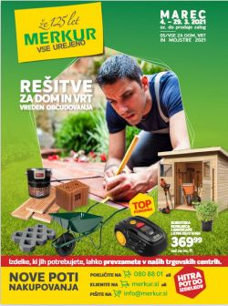 Merkur katalog Rešitve za dom in vrt