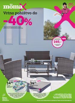 Momax katalog Vrtno pohištvo do – 40 %