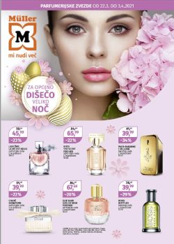 Muller katalog Parfumerijske uspešnice do 3. 4.