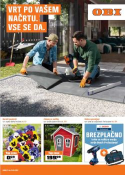 OBI katalog Vrt po vašem načrtu do 21. 3.