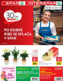Spar in Interspar katalog do 6. 4.