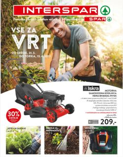 Spar in Interspar katalog Vse za vrt do 13. 4.