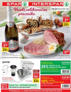 Spar in Interspar katalog do 13. 4.