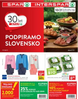 Spar in Interspar katalog do 23. 3.