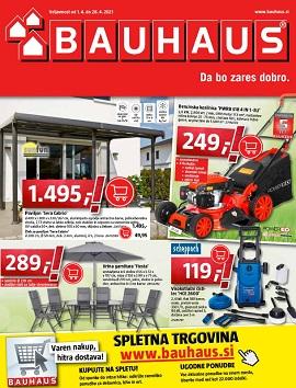 Bauhaus katalog april 2021