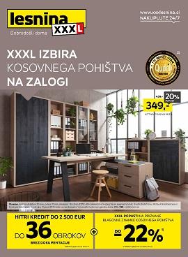 Lesnina katalog Izbira kosovnega pohištva na zalogi