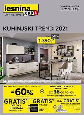 Lesnina katalog Kuhinjski trendi 2021