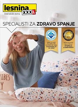 Lesnina katalog Specialist za zdravo spanje