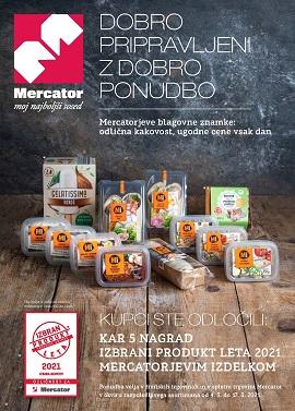 Mercator katalog Dobro pripravljeni z dobro ponudbo