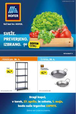 Hofer katalog od 23. 4.