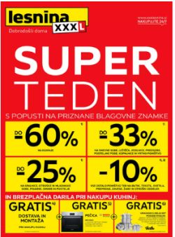 Lesnina katalog Super teden do 30. 4.