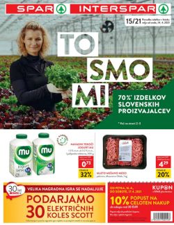 Spar in Interspar katalog do 26. 4.