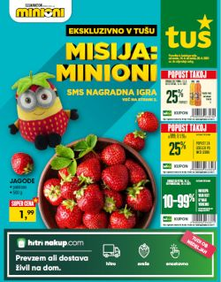 Tuš katalog trgovine in franšize do 20. 4.
